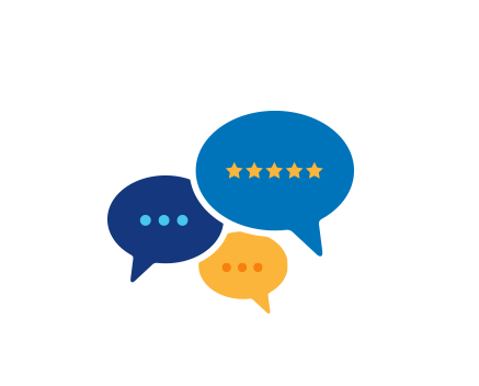Absolute Air Reviews chat bubble logo